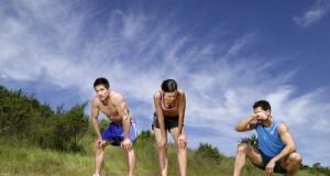 courir sous la chaleur