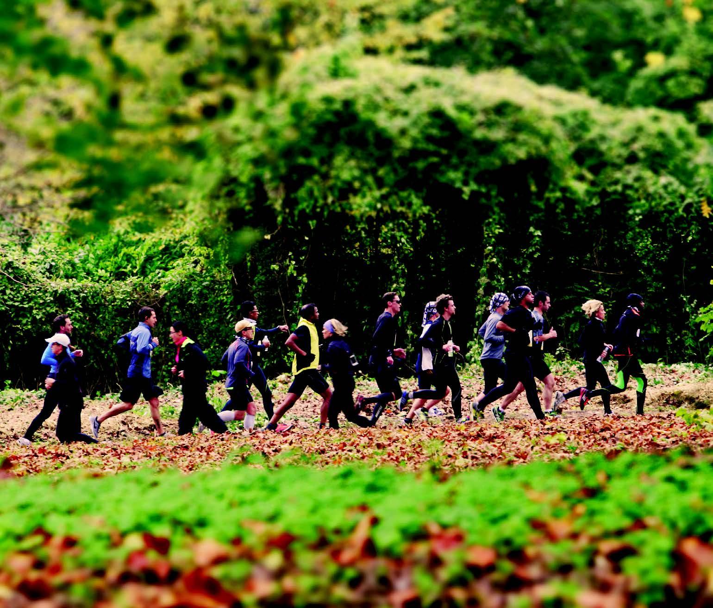 La montée vers le Bois de Boulogne, la première grosse difficulté de la course