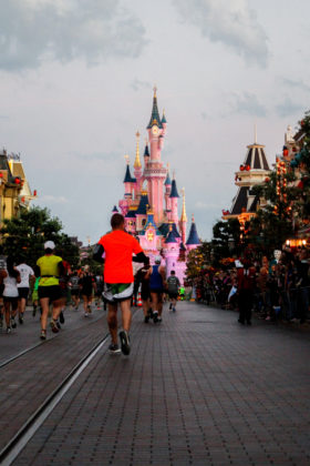 Half Marathon Run Disney in Marne la Vallee,