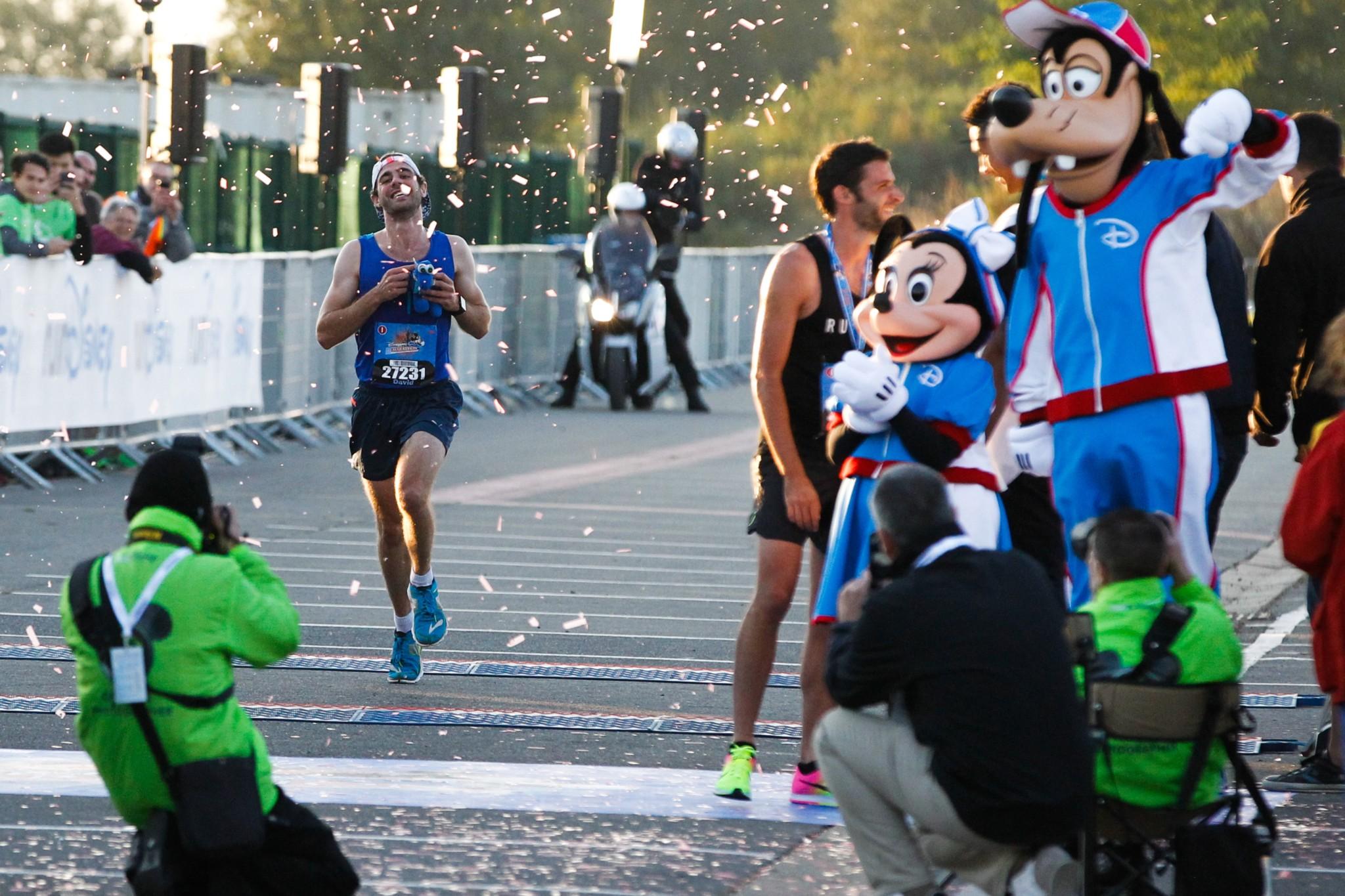 Half Marathon Run Disney in Marne la Vallee